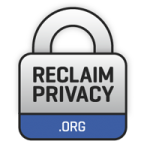Reclaim Privacy logo