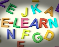 e-learning in magnetic letters