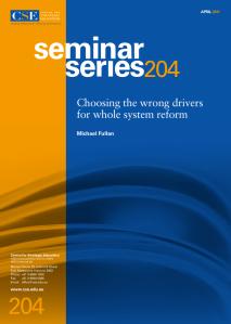 fullan seminar series cover