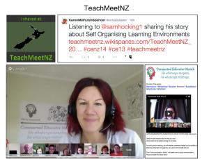 TeachMeet screenshot