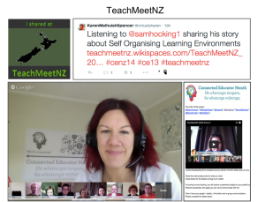 TeachMeet screenshot
