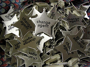 change agent badges